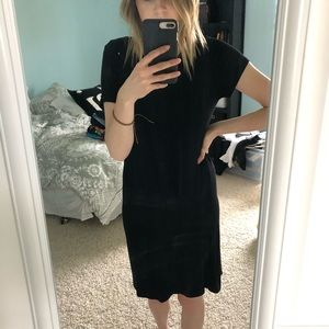 Size S Semi-fitted black Francesca's Dress
